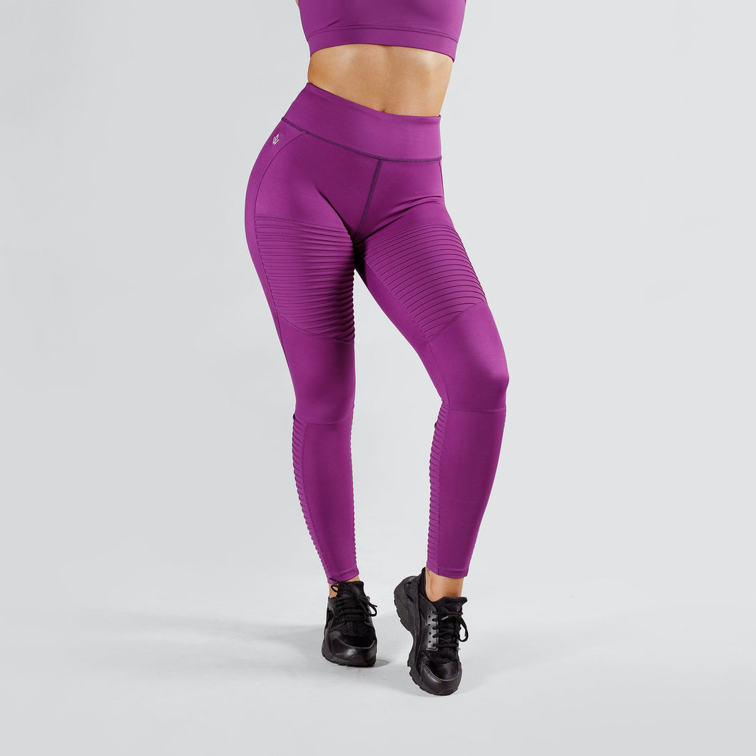 Workout Empire - Regalia Tights - Plum - Vorderseite