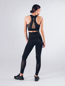 Workout Empire - Sculpt Leggings - Obsidian - Rückseite