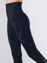Workout Empire - Sculpt Leggings - Obsidian - Seitlich 2