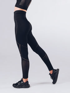 Workout Empire - Sculpt Leggings - Obsidian - Seitlich 3
