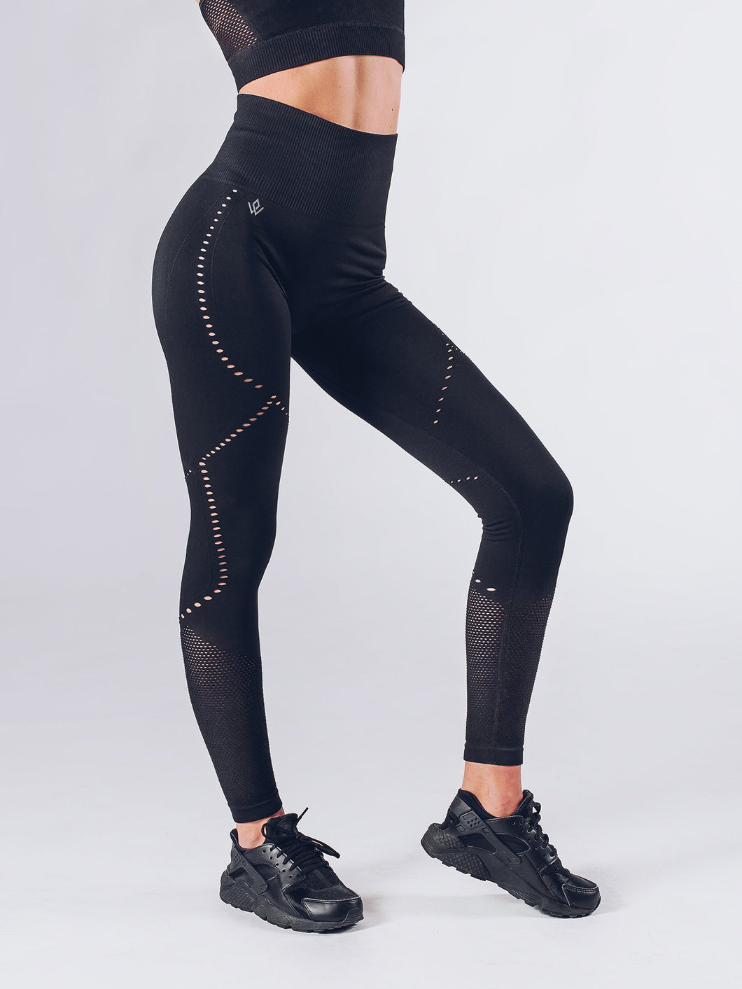 Workout Empire - Sculpt Leggings - Obsidian - Seitlich 1