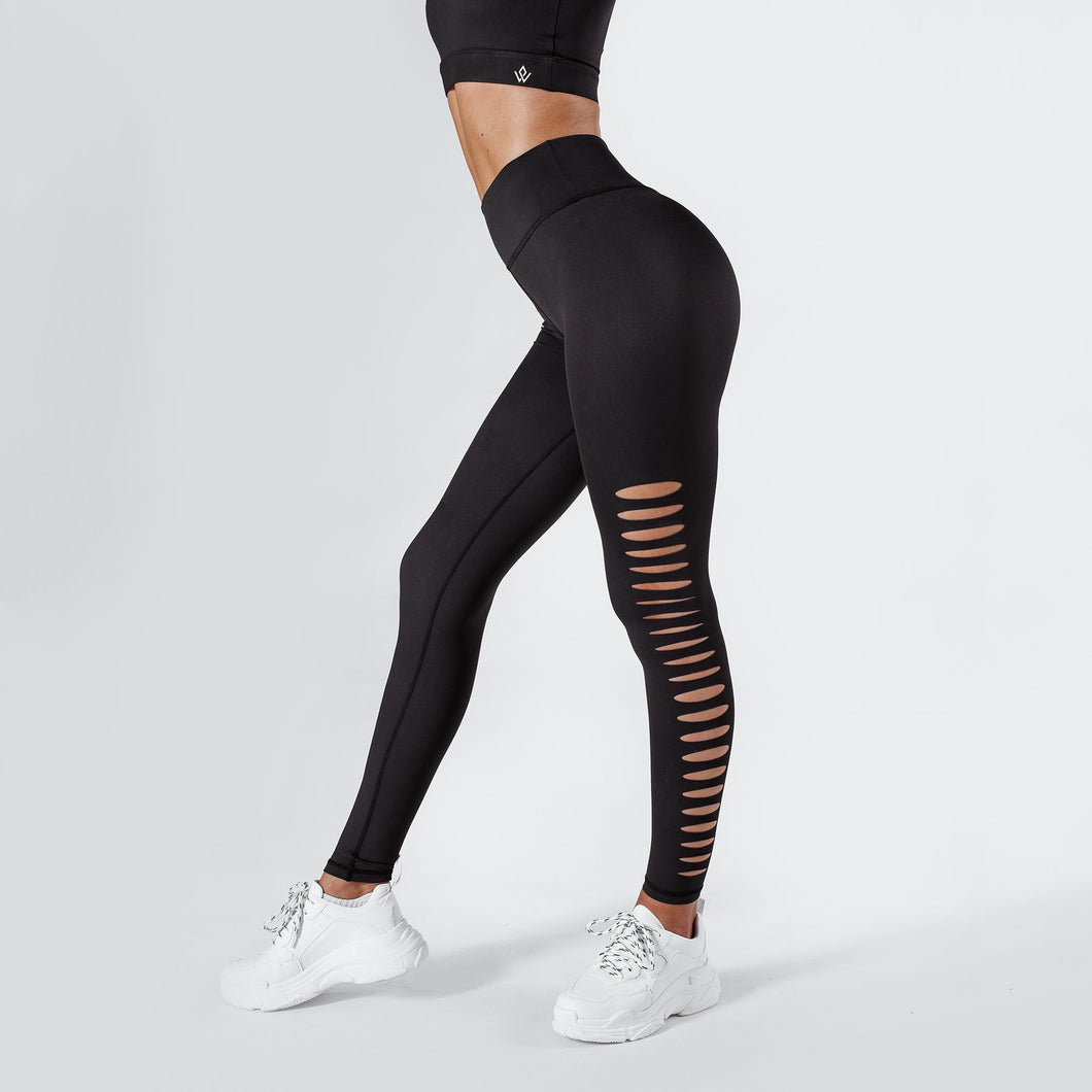 Workout Empire - Slay Leggings - Obsidian - Seitlich