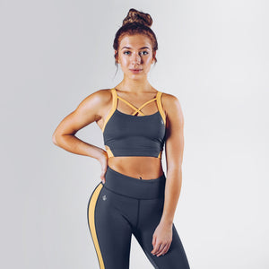 Workout Empire - Strike Bra - Slate - Vorderseite