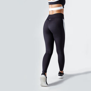 Workout Empire - Strike Leggings - Obsidian - Rückseite