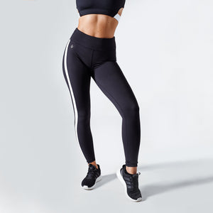 Workout Empire - Strike Leggings - Obsidian - Vorderseite