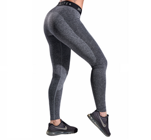 XXL Nutrition - Leggings Seamless - Grey / Black - Rückseite
