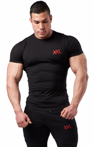 XXL Nutrition - Stretch Shirt - Black - Gesamt