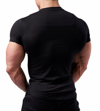 XXL Nutrition - Stretch Shirt - Black - Rückseite