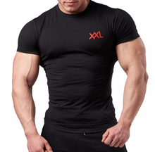 XXL Nutrition - Stretch Shirt - Black - Vorderseite