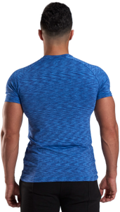 XXL Nutrition - Stretch Shirt - Blue - Rückseite