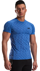 XXL Nutrition - Stretch Shirt - Blue - Vorderseite