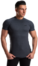 XXL Nutrition - Stretch Shirt - Dark Grey - Vorderseite