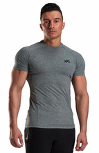 XXL Nutrition - Stretch Shirt - Grey - Vorderseite