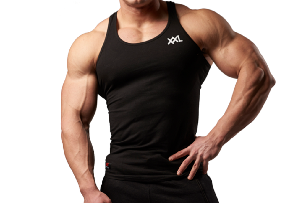 6d4c5dbcd XXL Nutrition - Tank Top Xtreme - Black - Vorderseite Detail.png v 1529416073