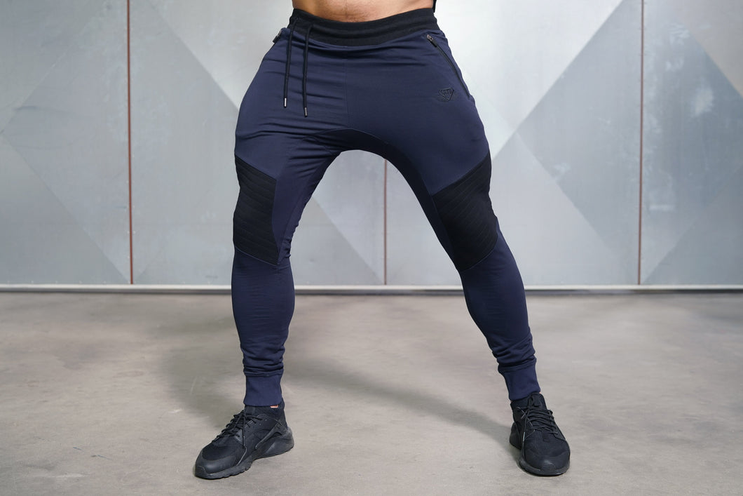 Body Engineers - X NEO Joggers - Navy Blue - Vorderseite