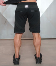 Body Engineers - YUREI Shorts – All Black - Rückseite