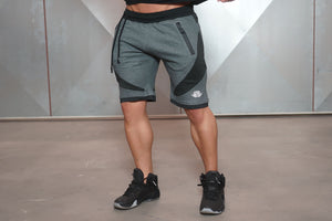 Body Engineers - YUREI Shorts – Anthracite - Vorderseite