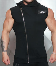 Body Engineers - YUREI Sleeveless Vest – All Black - Vorderseite