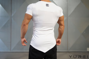 Body Engineers - YUREI X Prometheus 2.0 – Asymmetric V-Neck WHITE OUT - Rückseite