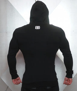Body Engineers - YUREI Vest – All Black - Rückseite