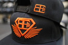 Body Engineers - Snapback Cap - Black & Dutch Orange - Rückseite