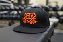 Body Engineers - Snapback Cap - Black & Dutch Orange - Vorderseite