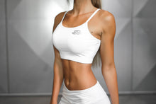 Body Engineers - ATHENA Comfort Crop Top – White Ivory - Seitlich