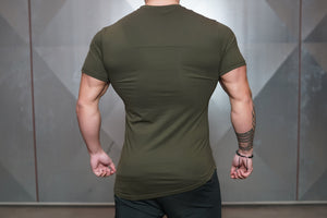 Body Engineers - Engineered Life T 2.0 – Army Green - Rückseite