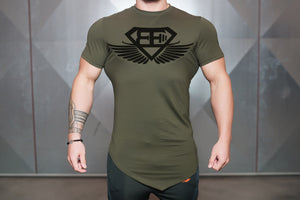 Body Engineers - Engineered Life T 2.0 – Army Green - Vorderseite