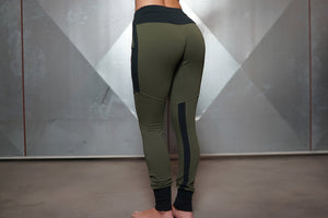 Body Engineers - Gaia Jogger 2.0 – Army Green - Rückseite