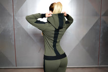 Body Engineers - GAIA Hoodie 2.0 – Army Green - Rückseite