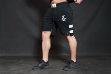 4Invictus - KENTO Shorts – Black & Light Grey - Seitlich