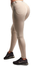XXL Nutrition - Leggings Tight - Leggings Tight - Beige - Rückseite