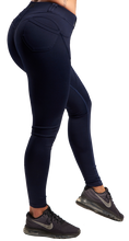 XXL Nutrition - Leggings Tight - Dark Blue - Rückseite