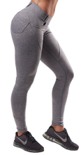 XXL Nutrition - Leggings Tight - Grey - Seitlich