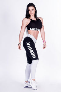 Nebbia - Heart Butt Leggings - Black (280) - Seitlich 1