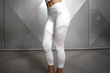 Body Engineers - CHIONE 7/8 Legging – White Ivory - Vorderseite