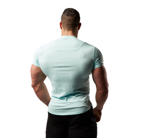 XXL Nutrition - Stretch Shirt - Turquoise - Rückseite