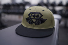 Body Engineers - BE Snapback Cap – Olive Green - Vorderseite