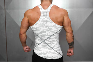 Body Engineers - XA1 Stringer – Snow Camo - Rückseite
