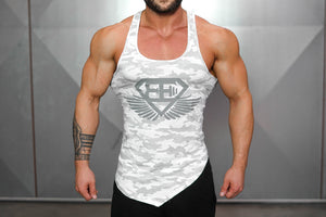 Body Engineers - XA1 Stringer – Snow Camo - Vorderseite
