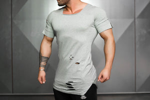 Body Engineers - SVGE Leviathan Shirt – Light Grey - Seitlich