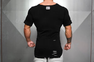 Body Engineers - SVGE Leviathan Shirt – Blackout - Rückseite