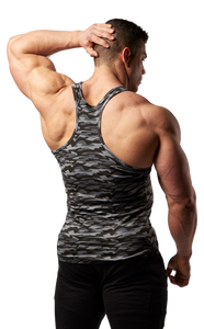 XXL Nutrition - Tank Top Xtreme - Black Camo - Rückseite