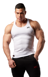 XXL Nutrition - Tank Top Xtreme - White - Gesamt
