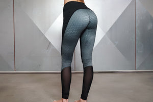 Body Engineers - ATHENA Venom Leggings – Black - Rückseite