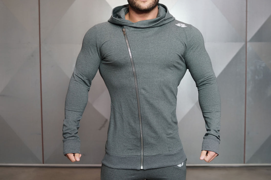Body Engineers - XA1 Vest 2.0 – Anthracite - Vorderseite