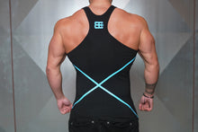 Body Engineers - XA1 Stringer – Black & Sky Blue - Rückseite