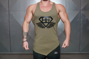 Body Engineers - XA1 Stringer – Army Green - Vorderseite