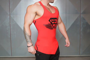 Body Engineers - XA1 Stringer – Red & Black - Seitlich
